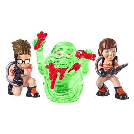 Ghostbusters Abby, Slimer Hot Dog, and Splitting Ghost Mini Figure 3-Pack