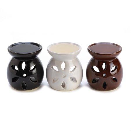 Essential Oils Warmer, Modern Fragrance Oil Warmer, Elegant Mini Oil Warmer Trio