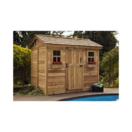 Outdoor Living Today Cabana Wood Garden Shed