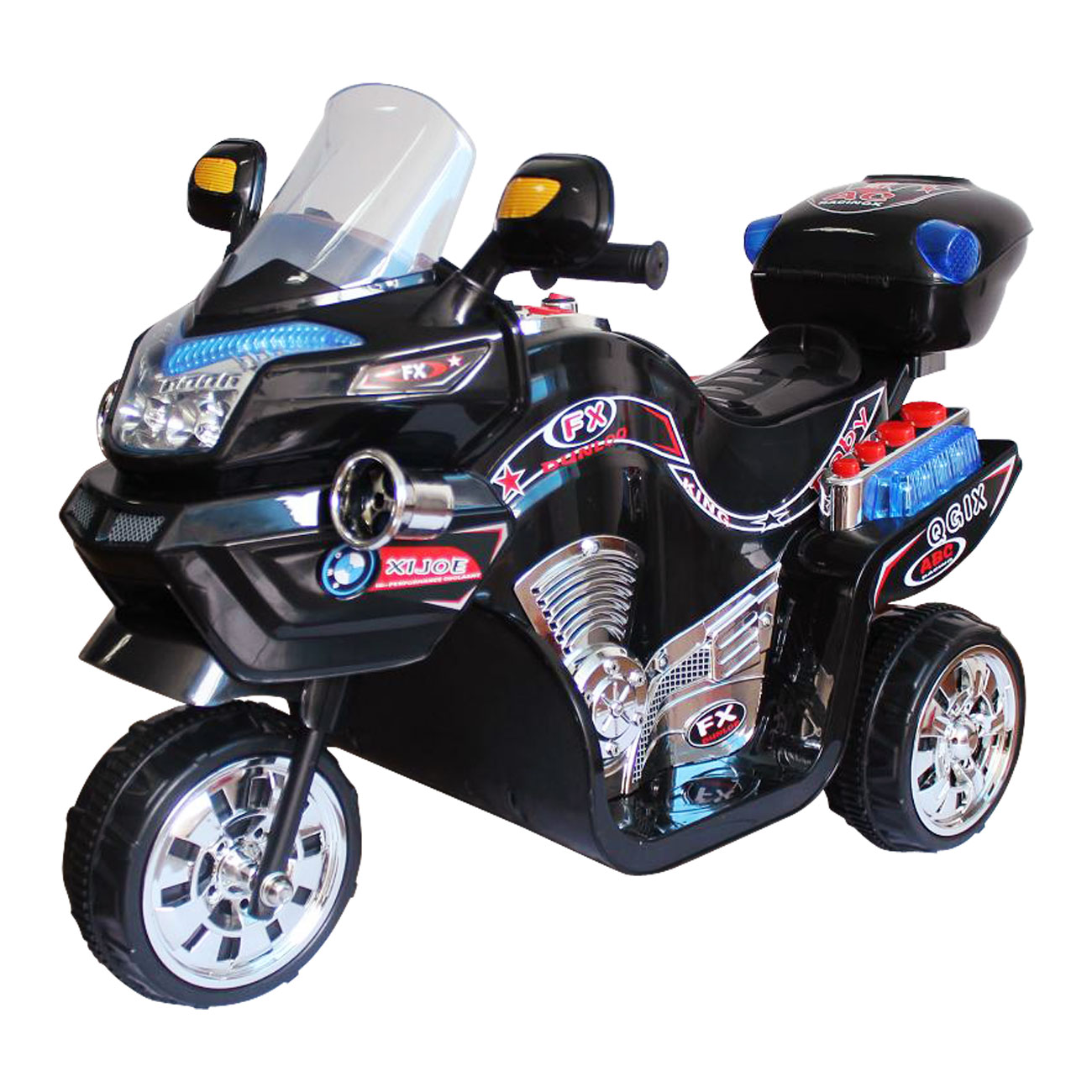 Ride on Toy, 3 Wheel Motorcycle for Kids, Battery Powered Ride On Toy by Lil Rider � Ride... by Trademark Global LLC
