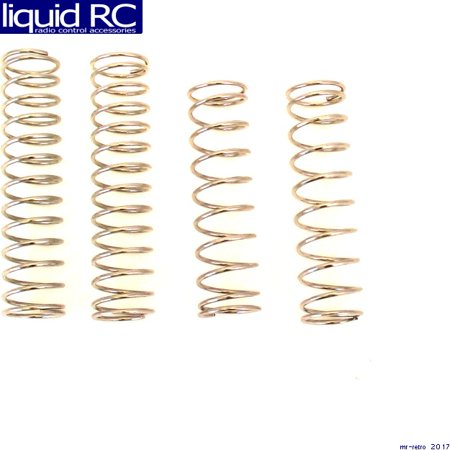 Hot Racing STD100M 2wd Performance On Road Spring Set (Performance Racing Springs)