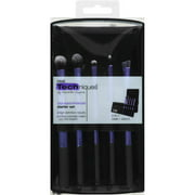 Real Techniques Starter Brush Set with 2-in-1 Case + Stand