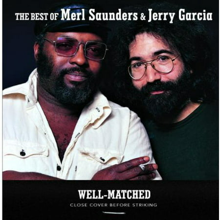 Well-Matched Best of Merl Saunders & Jerry Garcia (CD)