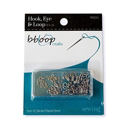 CUL Distributors BBloop 28 Piece Hook and Eye