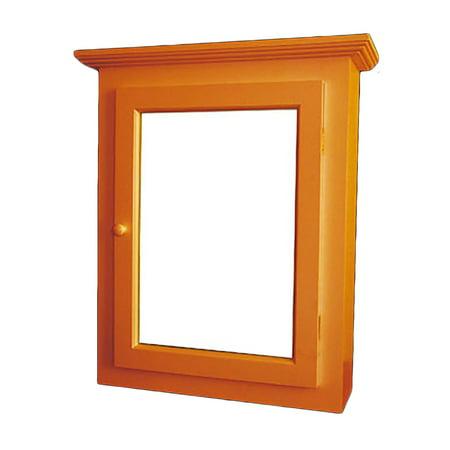 solid wood medicine cabinet mirror door flush surface mount renovator 39 s supply. Black Bedroom Furniture Sets. Home Design Ideas