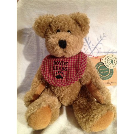 """Bear The Archive Collection Teddy Bear """" Bosley """" 7 Inches Tall, 7 tall By Boyds"""
