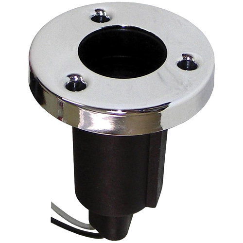 Round Base Stern Light, Stainless Steel