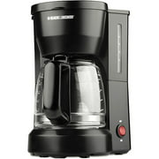 Black & Decker 5-cup Coffeemaker, Black
