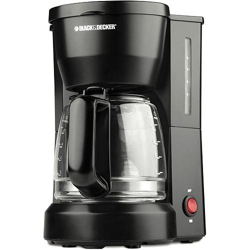 BLACK+DECKER 5-cup Coffeemaker, DCM600B