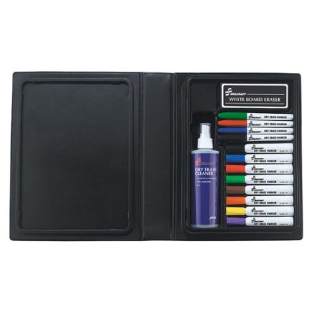 Skilcraft 12-color Dry Erase Marker System - Point Marker Point Style, Chisel Marker Point Style - Purple Ink, Red Ink, Blue Ink, Green Ink, Orange Ink, Yellow Ink, Brown Ink, Black Ink - (NSN3656126)
