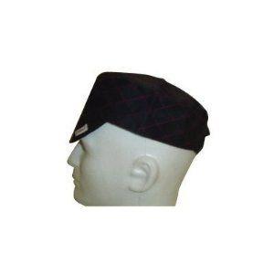 30634 BLACK QUILTED CAP