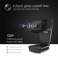 Computer PC Laptop 12MP USB2.0 Webcam 720P HD Camera with Microphone