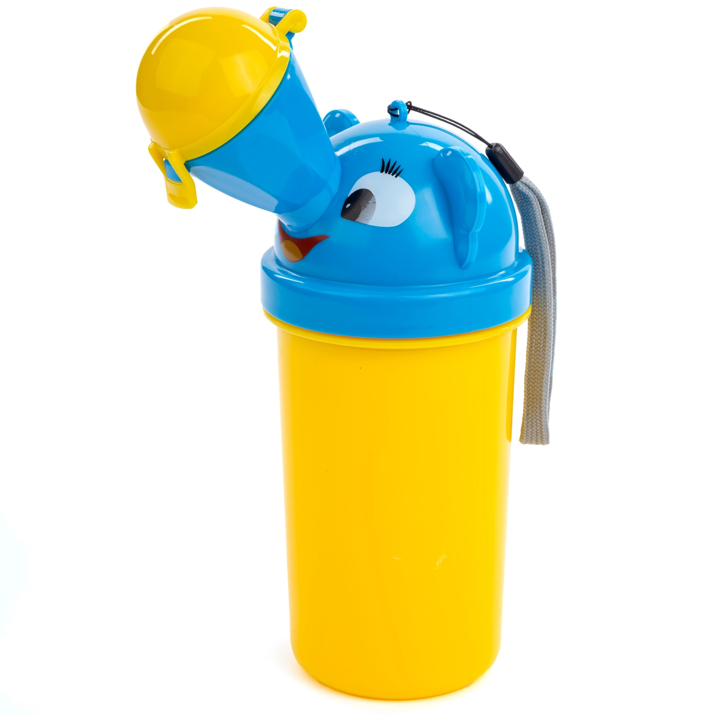On-The-Go Portable Potty Urinal For Travel or Potty Training, Toddler Boy Design