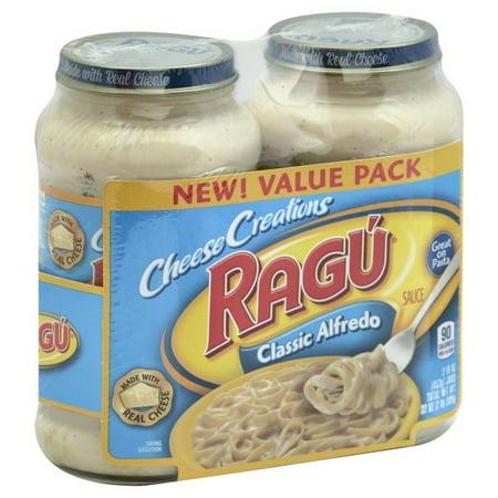 Ragu Cheese Creations Classic Alfredo Sauce 16 oz. each (Pack of