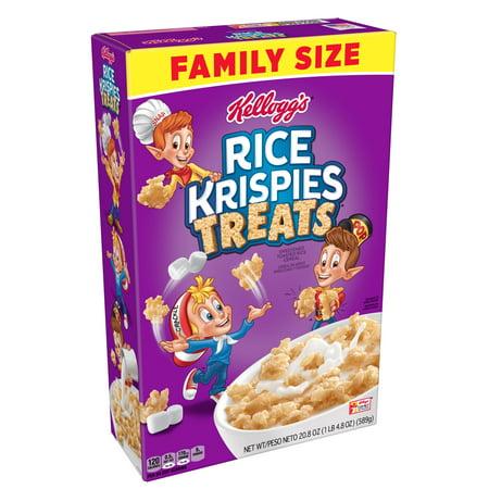 Easy Halloween Breakfast Treats ((2 pack) Kellogg's Rice Krispies Treats Breakfast Cereal 20.8)