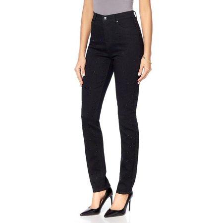 - DG2 Diane Gilman Stretch Embellish Skinny Jean 581-398