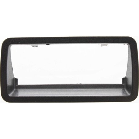 Evan-Fischer EVA26372021119 Tailgate Handle Bezel for Chevrolet S10 94-04 Black Replaces Partslink# GM1916103, FREE 1-year UNLIMITED mileage warranty coverage on.., By Evan Fischer from USA