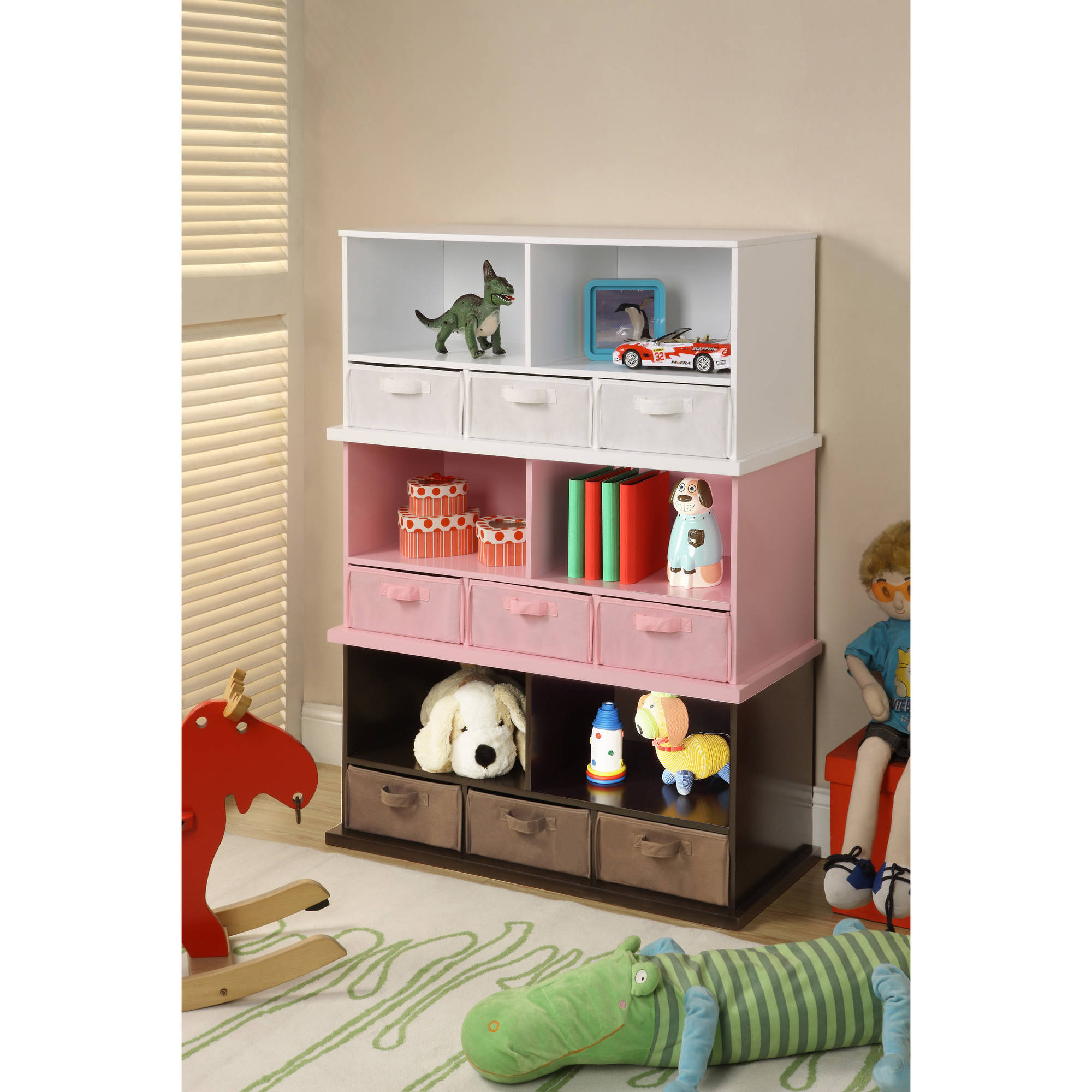 Badger Basket Shelf Storage Cubby With