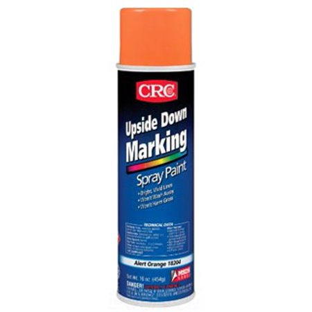 upside down marking paints set of 6 color alert orange