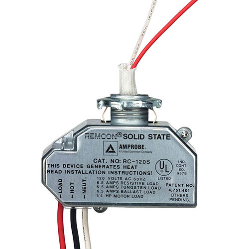 amprobe rc 120s remcon closet light relay (2 wire) walmart com Starter Relay Wiring Diagram at Remcon Relay Wiring Diagram
