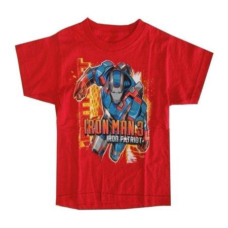 Marvel Little Boys Red Iron Man 3