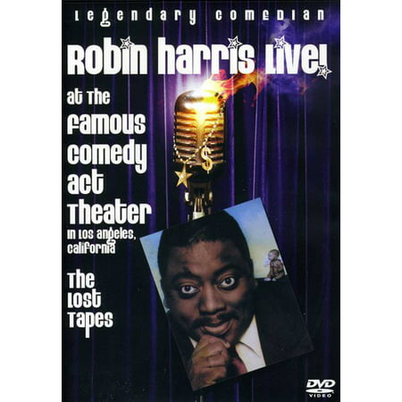 Robin Harris: Live From The Comedy Act Theatre The Lost Tapes