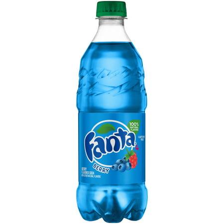 Fanta Caffeine-Free Berry Soda, 20 Fl. Oz.