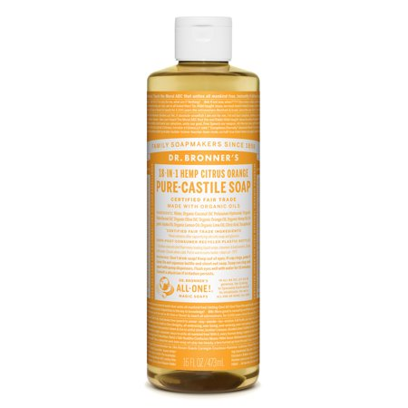 Dr. Bronner's Citrus Orange Pure-Castile Liquid Soap - 16 oz