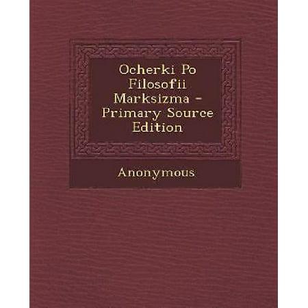 Ocherki Po Filosofii Marksizma - Primary Source Edition - image 1 de 1