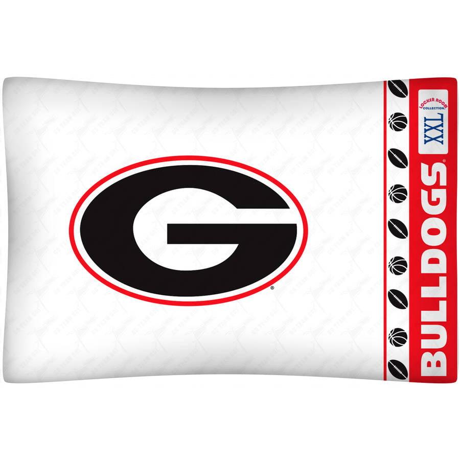 NCAA University of Georgia Micro Fiber Pillow Case