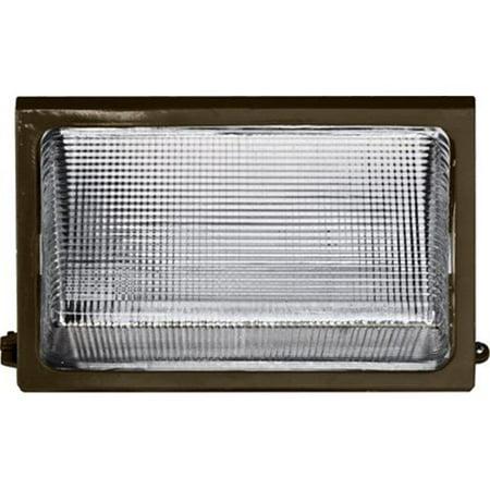 Dabmar Lighting DW1675 9.38 x 12.63 x 7.75 in. 120 V 175 watts Medium Wall Pack Fixture with Metal Halide Lamp, Bronze