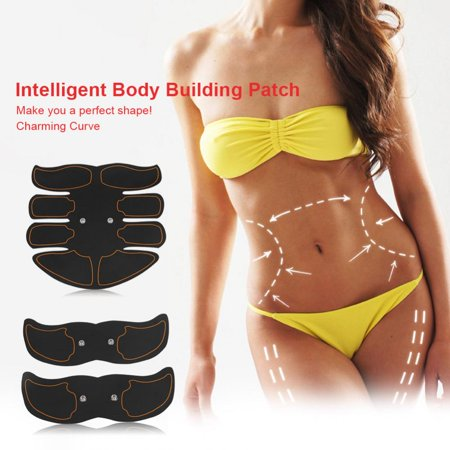 Yosoo Body Building Patch, Fat Burning Patch,Battery Type Fat Burning Muscle Strengthening EMS Intelligent Abdomen Training Patch - image 7 of 8