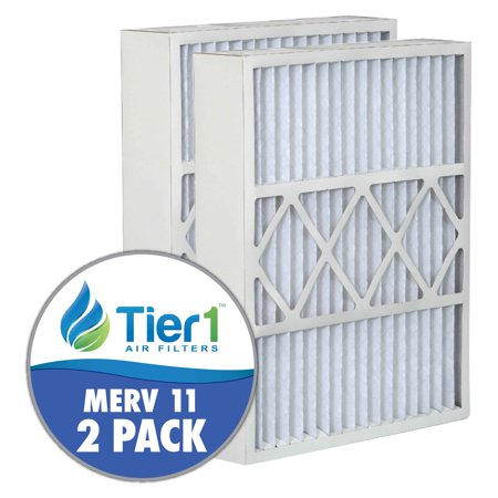 White Rodgers Furnace Filters - White Rodgers 52026-11 20x25x5 Merv 11 Replacement AC Furnace Air Filter 2 Pack