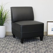 Boss Office Products Black Reception Sectional Sofa