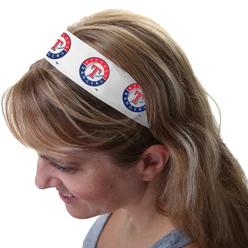 Texas Rangers Head Wrap - White - No Size