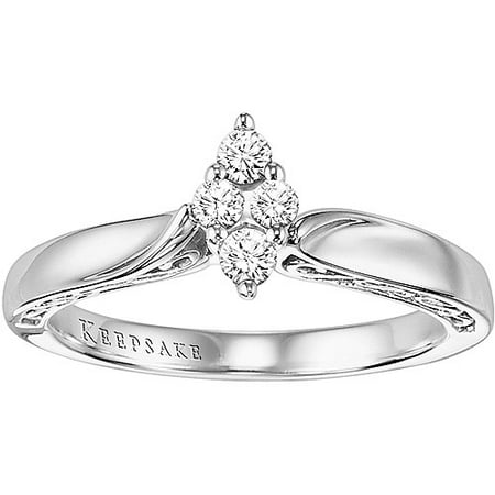 Enchanted Marquise 1/5 Carat T.W. Certified Diamond Ring 10kt White Gold Ring