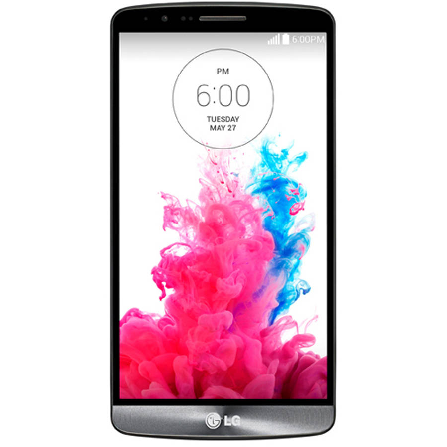 LG G3 D850 32GB Smartphone (Unlocked), Metallic Black