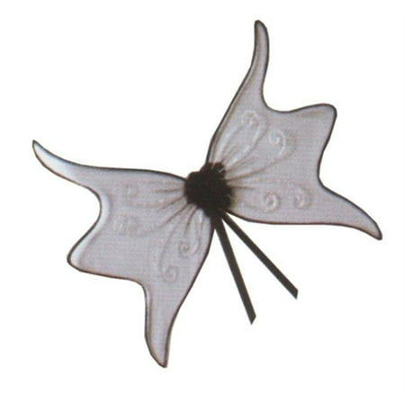 Costumes For All Occasions Fw90445Bk Wings Fairy Black - Realistic Fairy Wings For Sale