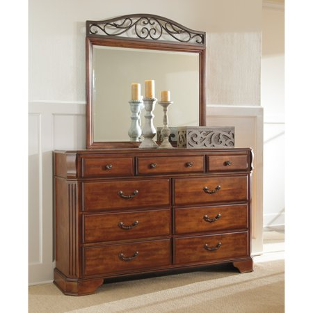 loretta dresser black door with mirror images homelegance drawer in