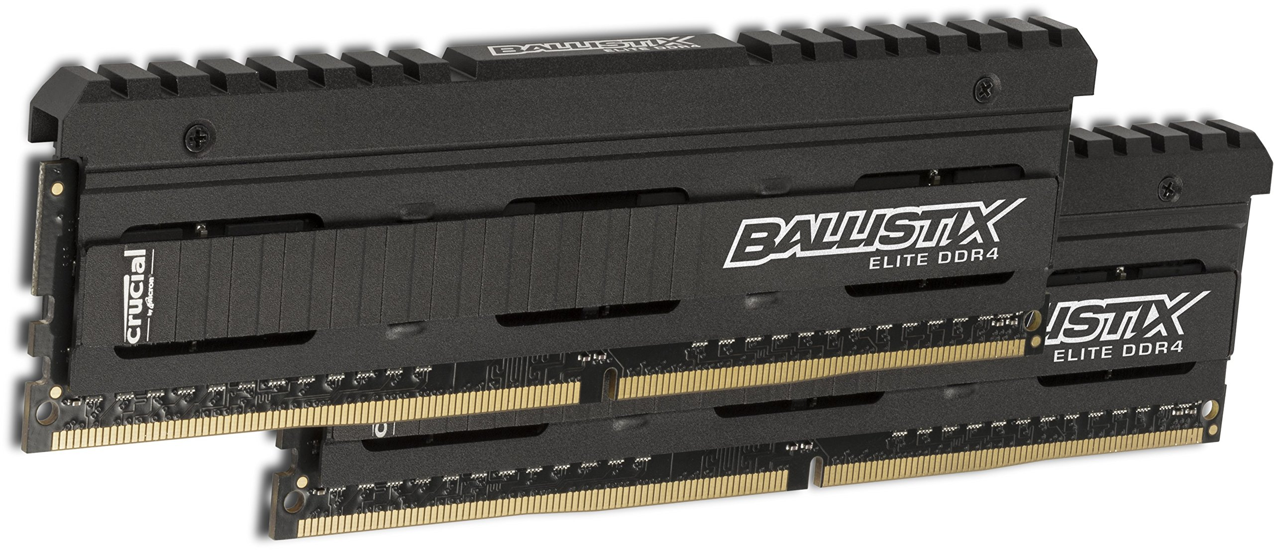 Crucial Ballistix Elite 16gb Kit [8gbx2] Ddr4-2666 Udimm - 16 Gb [2 X 8 Gb] - Ddr4 Sdram - 2666 Mhz Ddr4-2666/pc4-21300 - 1.20 V - Non-ecc - Unbuffered - 288-pin - Dimm (ble2k8g4d26afea)