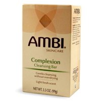 12 Pack - Ambi Complexion Cleansing Bar, 3.5 Ounce