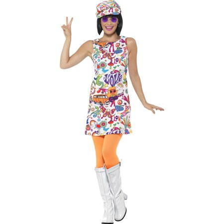 60's Groovy Chick Costume (60's Mod Fashion Costumes)