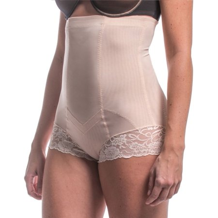 Women's Magic Bodyfashion 14HB Luxury & Lace Super Control Brief (Latte S) - image 1 de 1