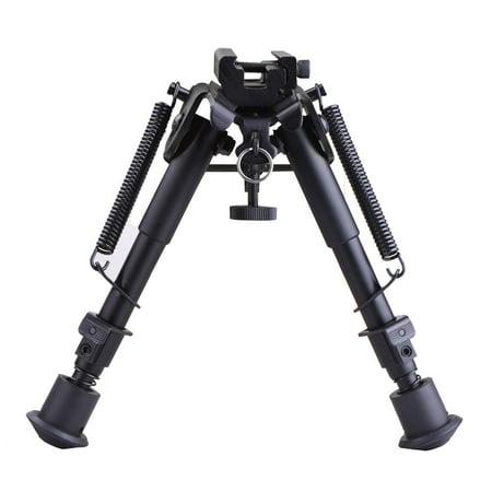 Primary Bipod Swing - Adjustable Universal Rifle Bipod with Swivel Stud Rail Mount Adapter (6