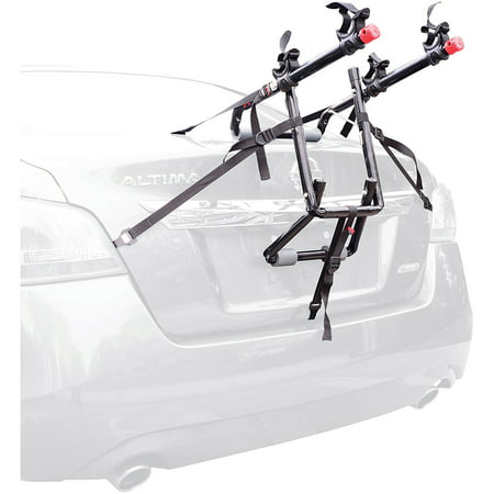 Allen Sports Deluxe 2-Bicycle Trunk Mounted Bike Rack Carrier, 102DN (Deluxe Trunk Mount Bike Carrier)