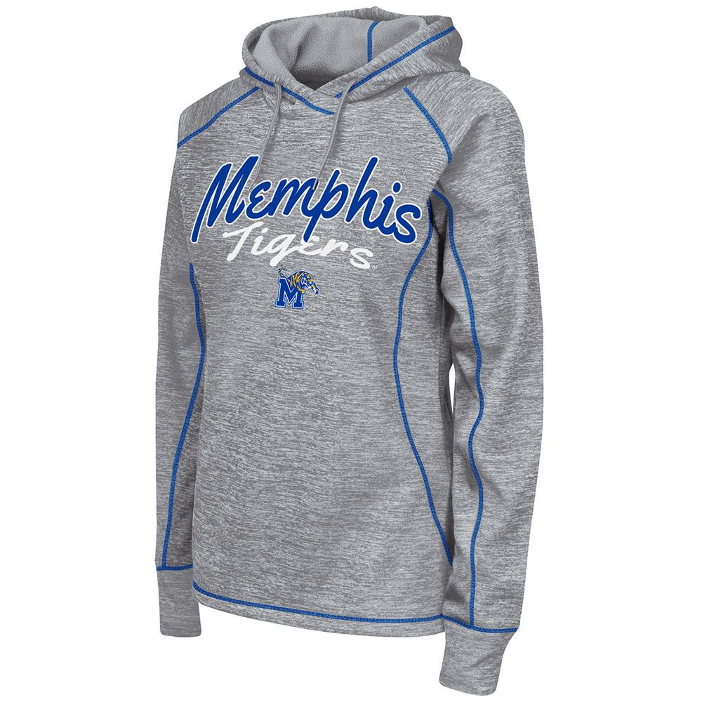 Womens NCAA Memphis Tigers Poly Pull-over Hoodie