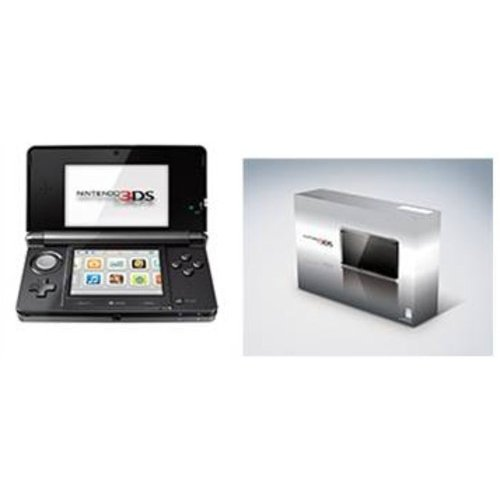 Nintendo 3DS - Cosmo Black (3DS)