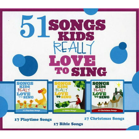 Kids Choir 51 Songs Kids Really Love To Sing (3CD) ()