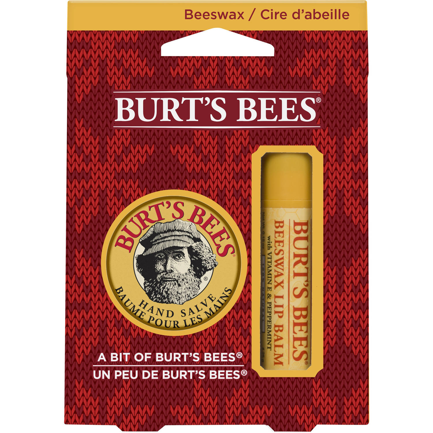 Burt's Bees A Bit of Burt's Bees Beeswax Holiday Gift Set, 2 pc