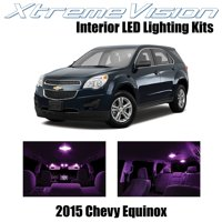 XtremeVision LED for Chevy Equinox 2015 (11 Pieces) Blue Premium Interior LED Kit Package + Installation Tool